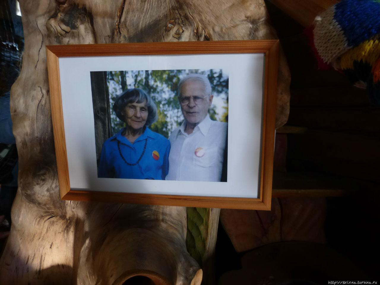Фотография Эвы и ее мужа
