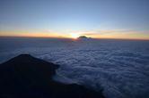 Восход над Килиманджаро.