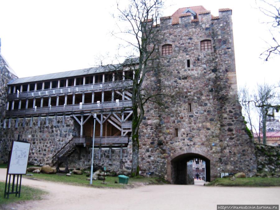 Замок Зегевольд Сигулда, Латвия