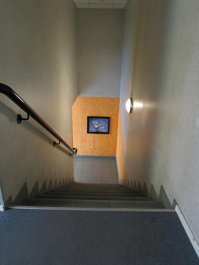 лестница со второго этажа