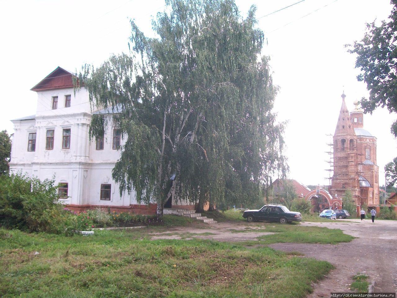 Осмотр немногочисленных достопримечательностей Венёв, Россия