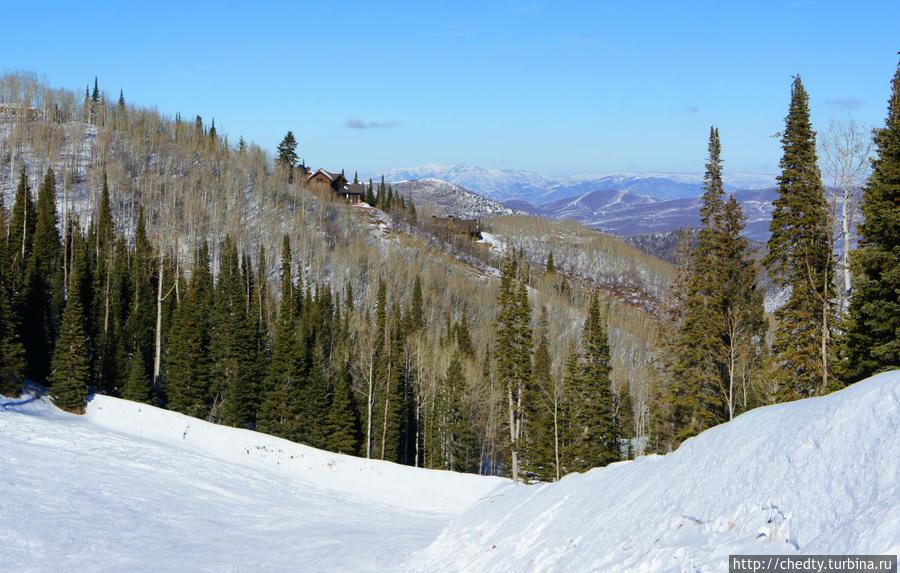 Горные лыжи в Юте. Трассы Парк-Сити, CША