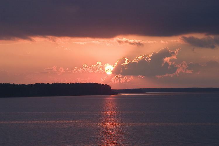 Закаты над Волго великоле