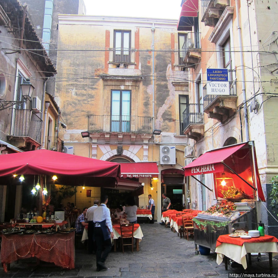 рестораны на боковых улицах