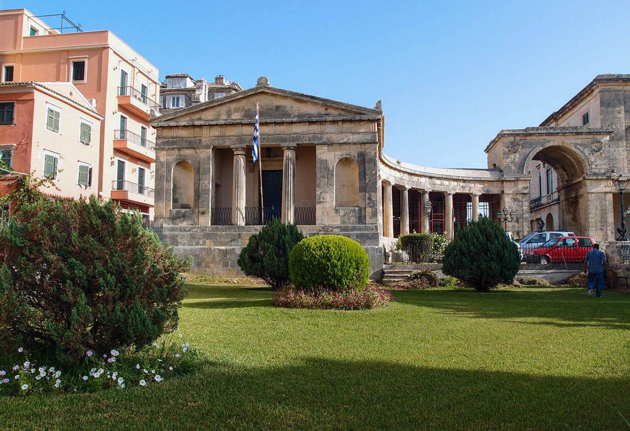 Палеа Анактора. Дворец, музей и место саммита