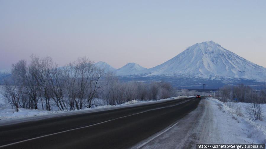 Корякский вулкан от Елизово
