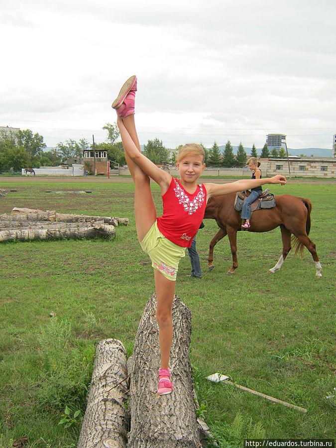 Вот так умеют благовещенские спортивные гимнасты! )))