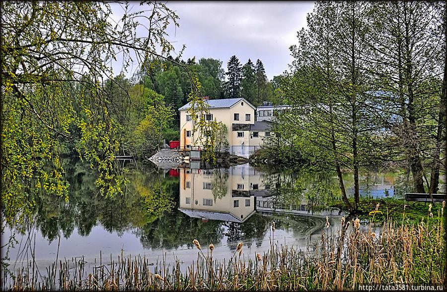 Прибрежный город Уусикаупунки Уусикаупунки, Финляндия