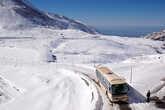 Автобус подъезжает к Муродо