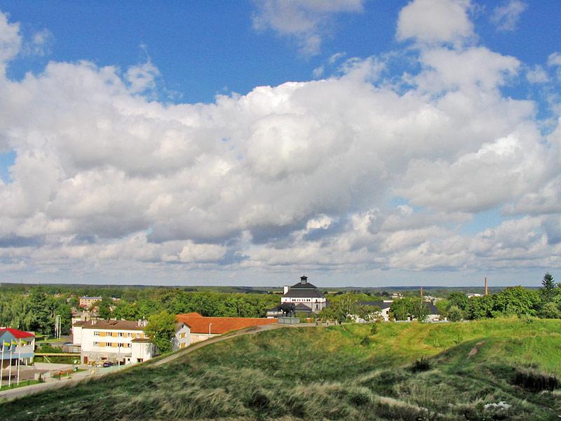 Вид с замка Раквере, Эстония