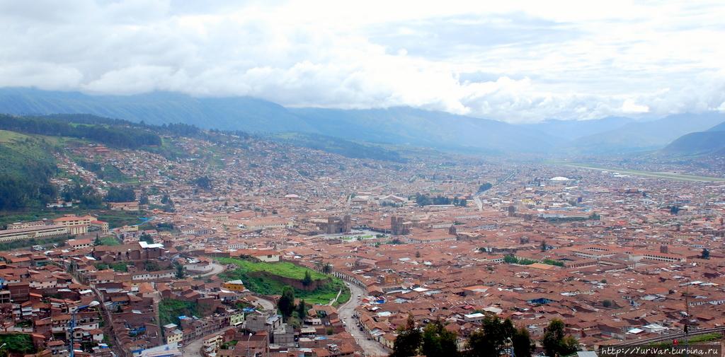 Панорама города Куско