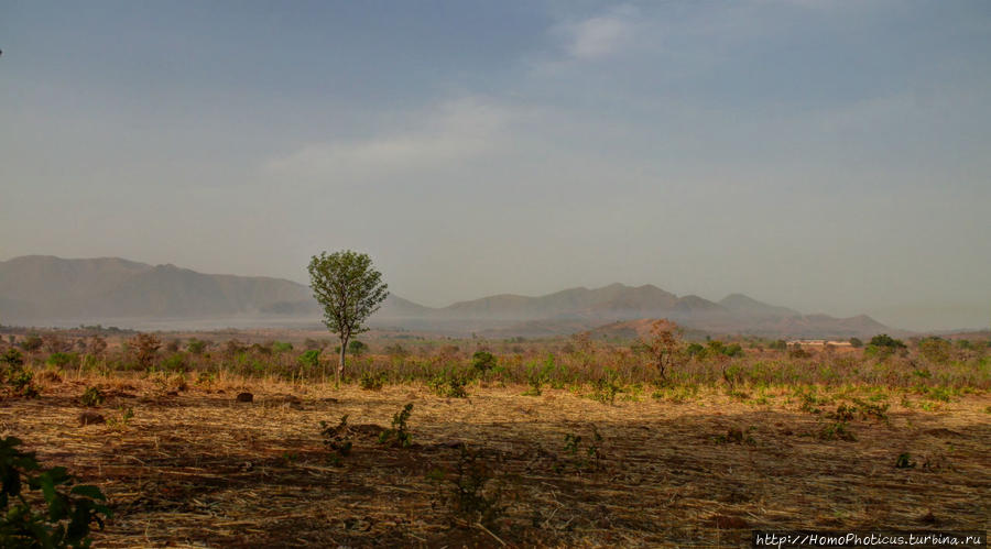 Поселение фульбе Тчамба, Камерун