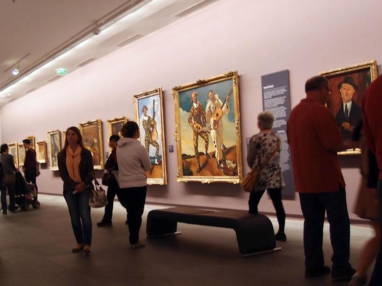 André Derain<br /> Harlequin a