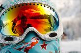 Классический сноубордерский самострел в маску, фотографирую не я :)