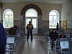 ЖД-вокзал города