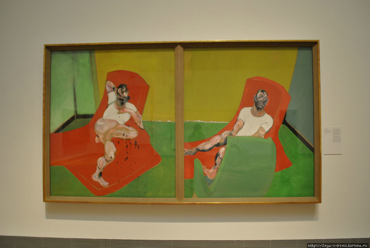 Фрэнсис Бэкон, двойной портрет