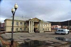 Здание Райкома КПСС, позже здание милиции. Источник фото: Интернет.