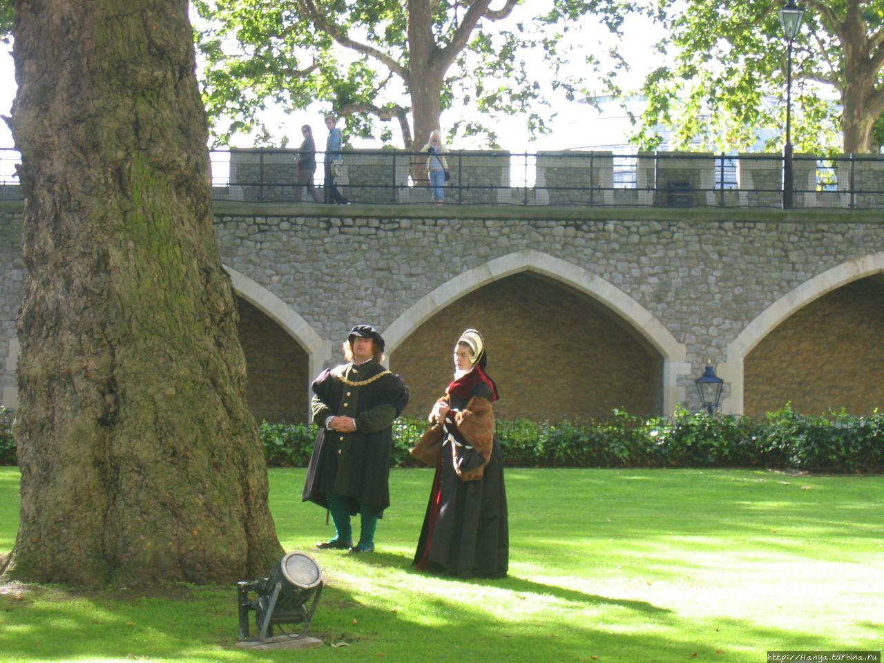 Лондонский Тауэр. Историч