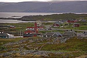 На окраине поселения