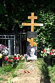 Совсем свежие могилы...