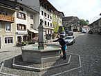 На центральной туристической улице расположен фонтан с питьевой водой.