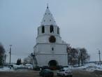 Единственная башня сохранилась от Сызранского Кремля.