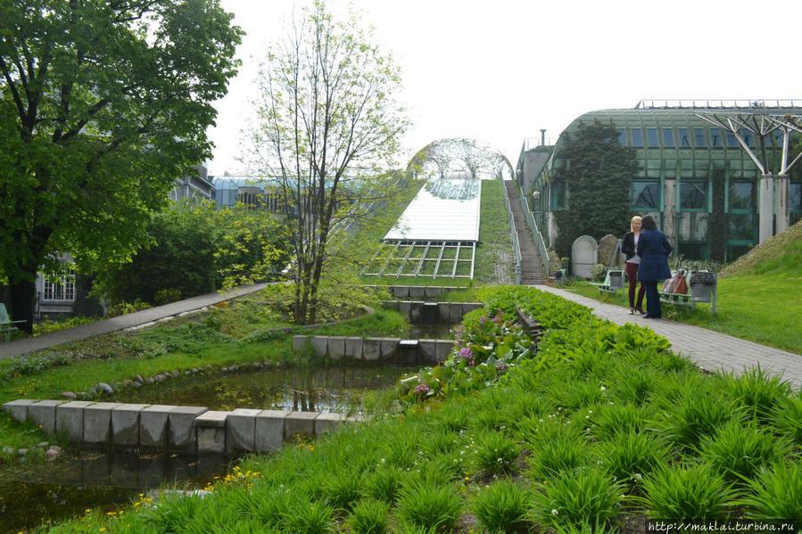 Лестница, ведущая к Верхнему саду.