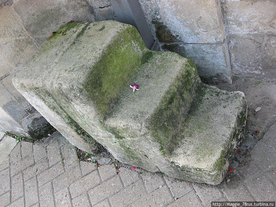 ступени замка Фотерингай