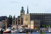 Вид на Королевский дворец с Юргордена
