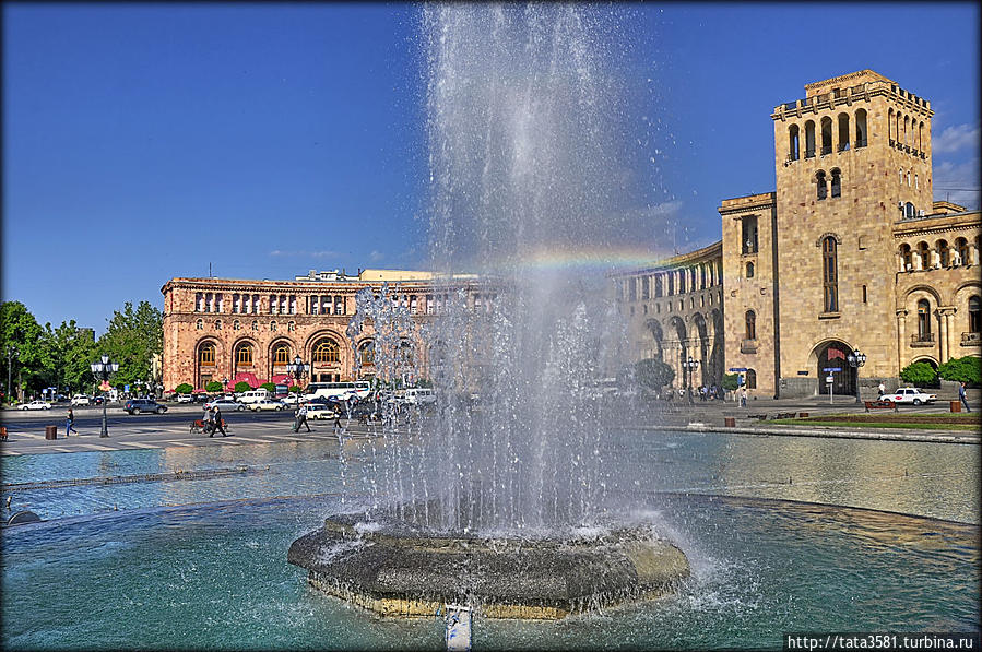 Площадь Республики в Ереване Ереван, Армения