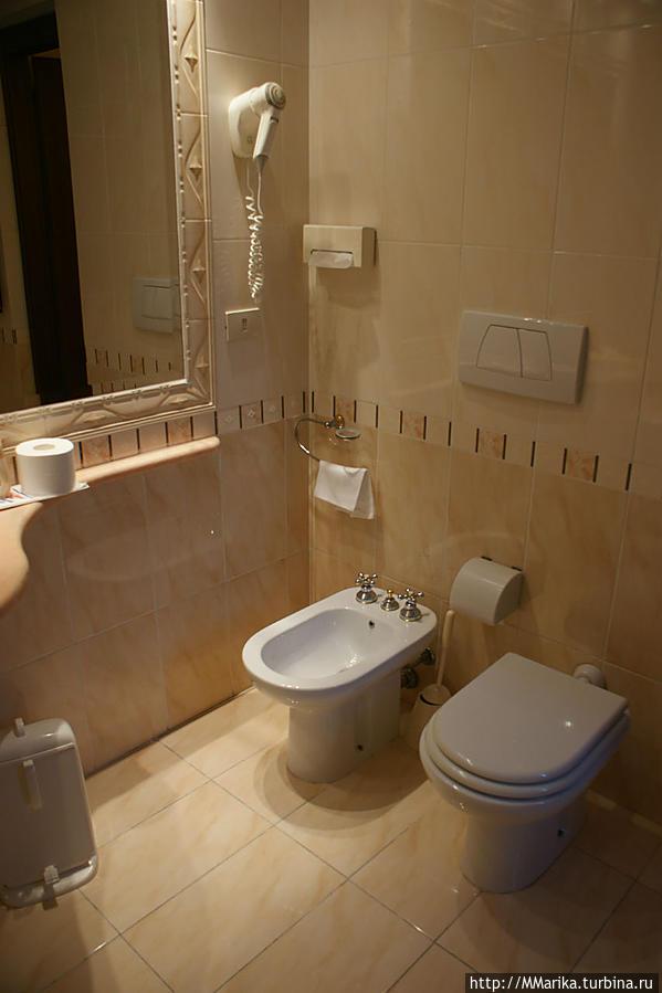 ванная комната одноместного номера