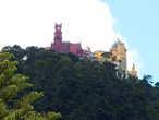 вид на замок Пена с крыши Кинты