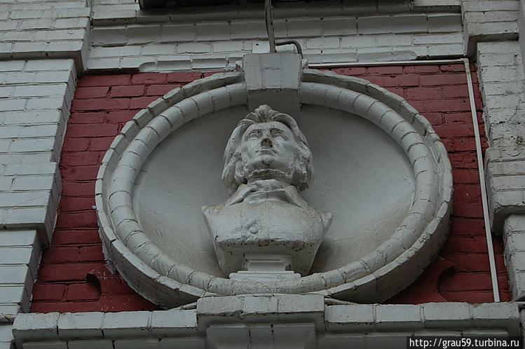 Бюст Мицкевича
