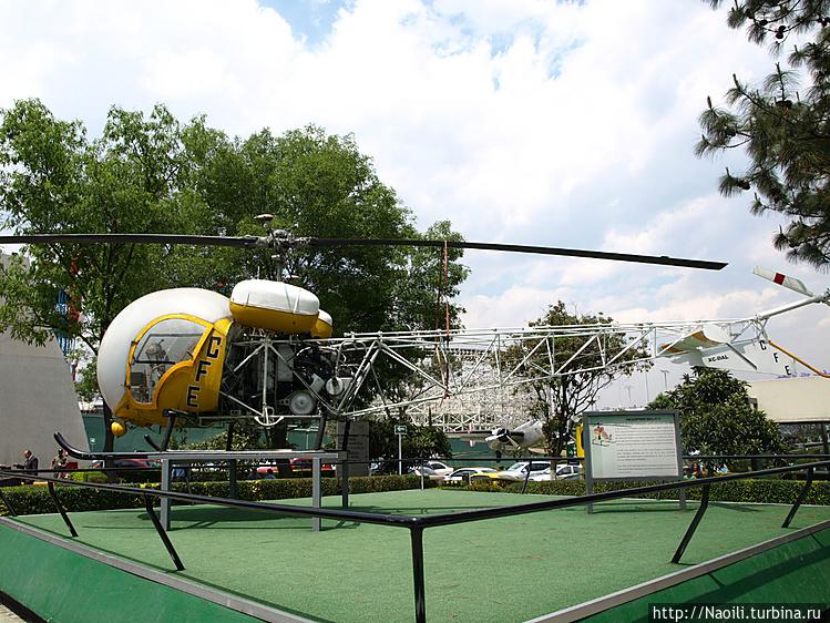 Вертолет Белл 47G — первы