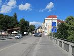 Мост разделяющий польскую и чешскую части города