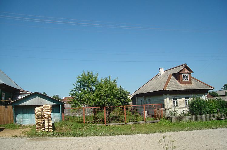 гараж Смирновых, дом Рябк