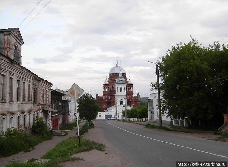 Вид с улицы Чернышевского