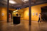 Малая часть музея посвященна произведениям Швейцарских учёных и мыслителей