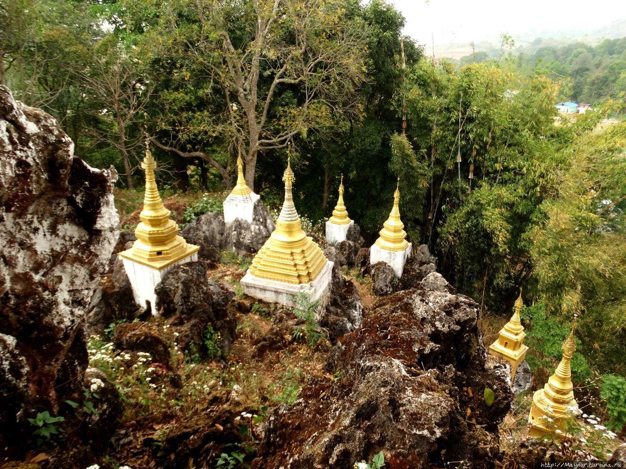 Четыре дня   из  нашей  жизни в  Мьянме. Трек ... Кало, Мьянма