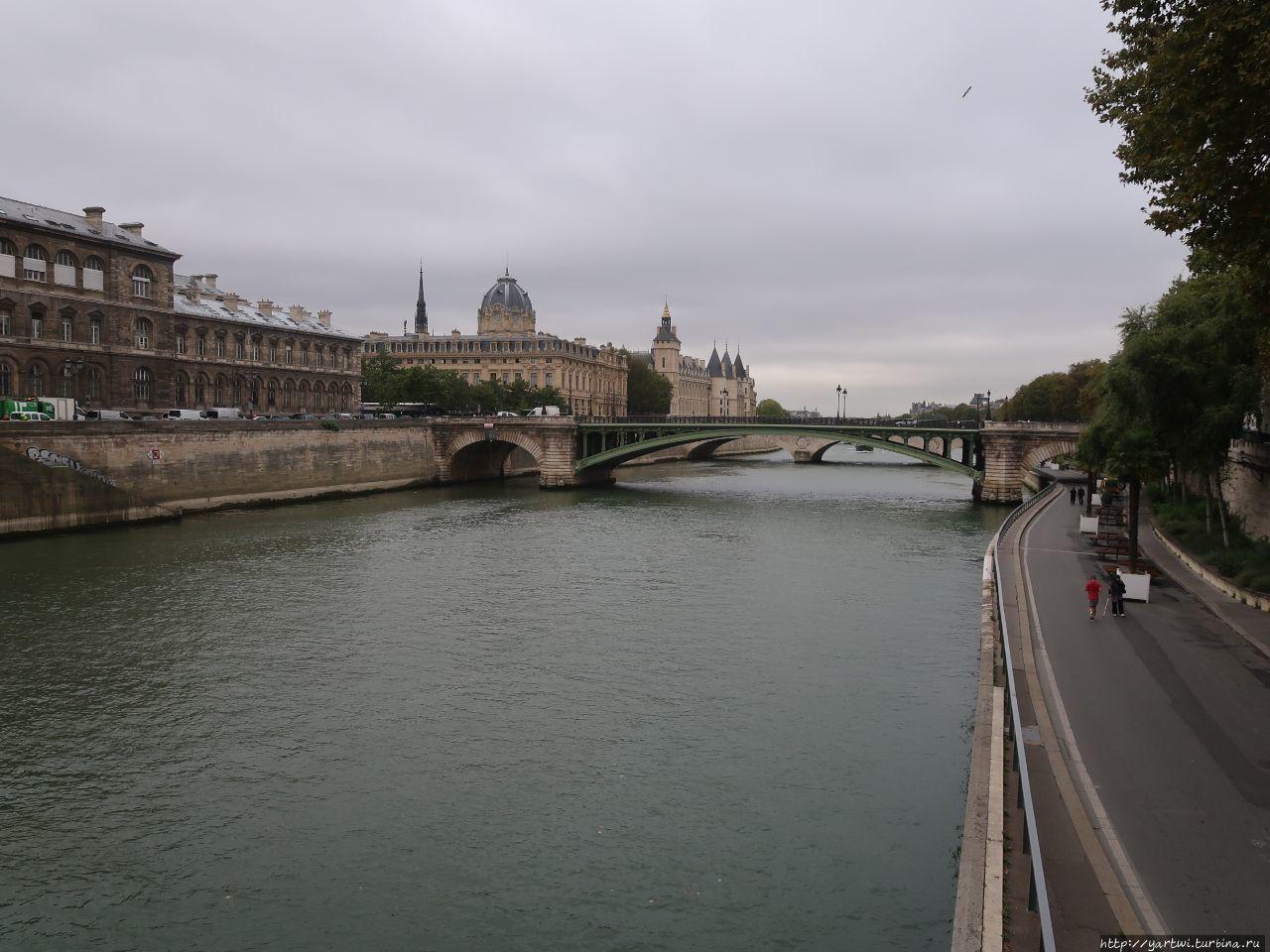 Вид на Сену и Иль де ля С