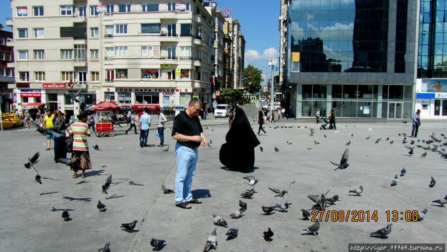 Площадь Таксим.