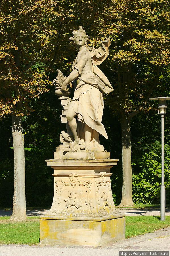 Парковая скульптура Брухзаль, Германия