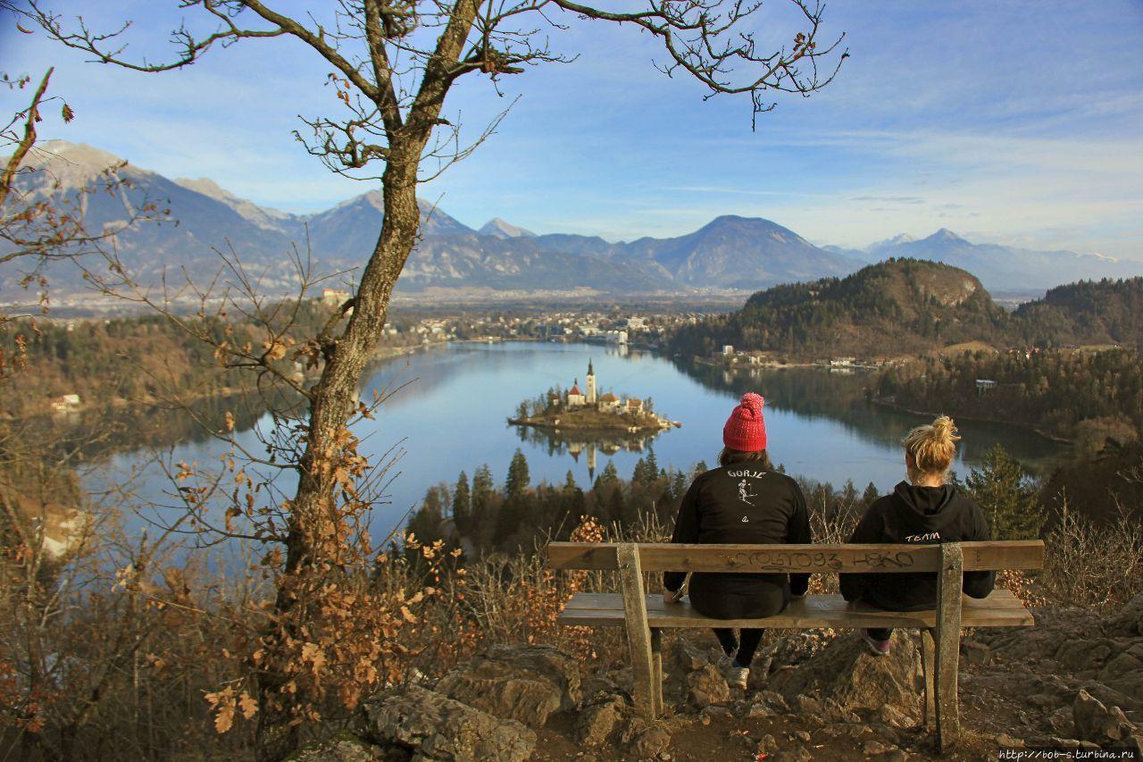 Блед. Райский уголок Словении
