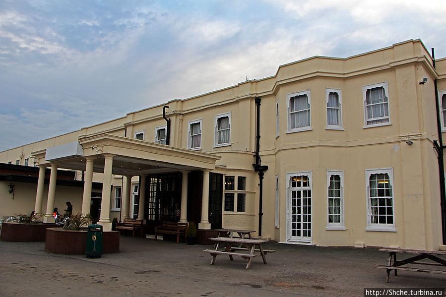 отель занимает особняк 19 века