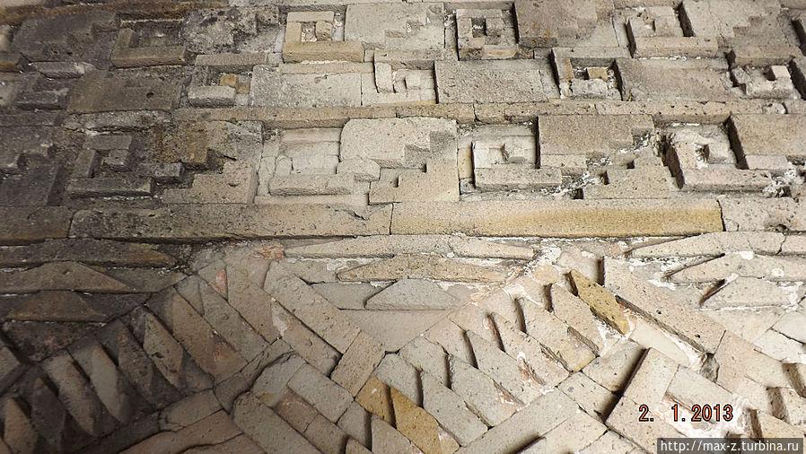 Митла: первые узоры Сан-Пабло-Вилла-де-Митла, Мексика