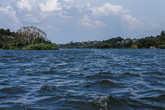 Вид из озера на один из рукавов Нила