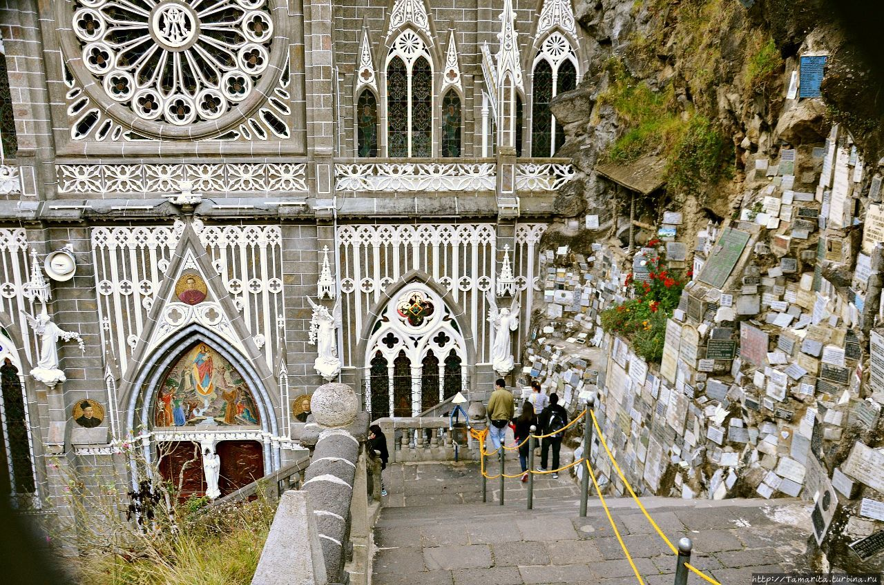 Базилика Лас-Лахас — колумбийское чудо Ипиалес, Колумбия