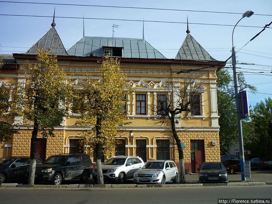 Бывшее здание бани в Бежицком районе. 1910 год