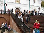 Лестница, ведущая с соборной площади к Свято-Успенскому собору