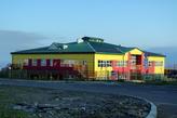 Южно -Курильск. Здание детского сада.